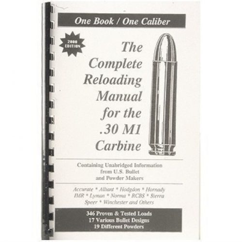 Loadbooks 30 carbine