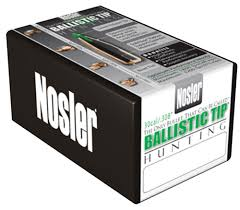 Nosler Rifle Bullets 30 cal 50/bx