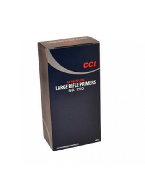 CCI Large Rifle Magnum Primers No. 250 - 1000 ct
