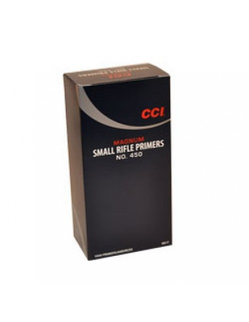 CCI Small Rifle Magnum Primers No. 450 - 1000 ct
