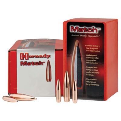Hornady Rifle Bullets BTHP Match - 100/bx