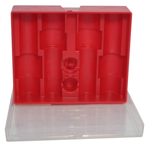 Lee 4-Die Storage Box Red