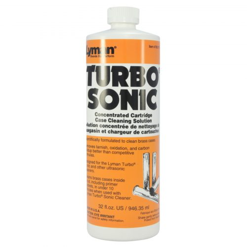 Lyman Turbo Sonic Ultrasonic Case Cleaning Solution