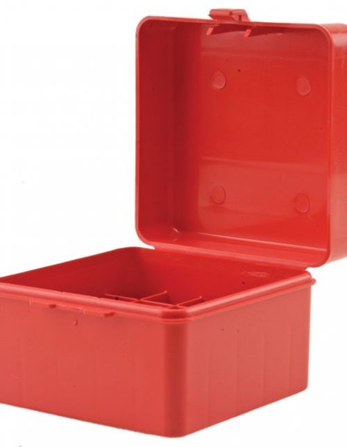 MTM Flip-Top Ammo Box 40 S&W, 10mm Auto, 45 ACP 100-Round - Red