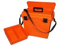 "MTM Sportsmans Dry Box 14"" x 7-1/2"" x 9"" - Orange"