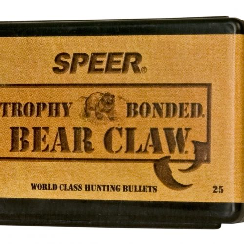 "Speer Rifle Bullets 6.5mm (.264"") 140gr Trophy Spitzer Bear Claw SP - 25/bx"