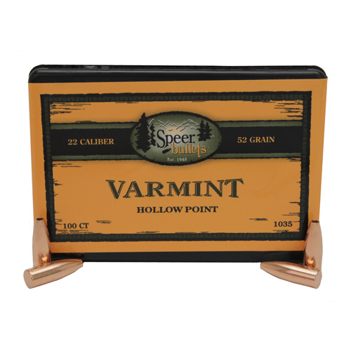Speer Rifle Bullets Varmint HP