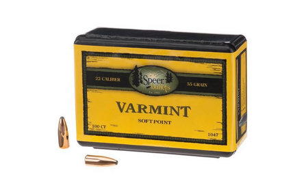 Speer Rifle Bullets 22 cal 100/bx