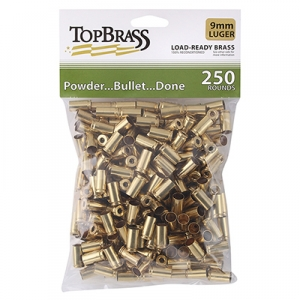 Top Brass 9mm Luger 250ct Bag