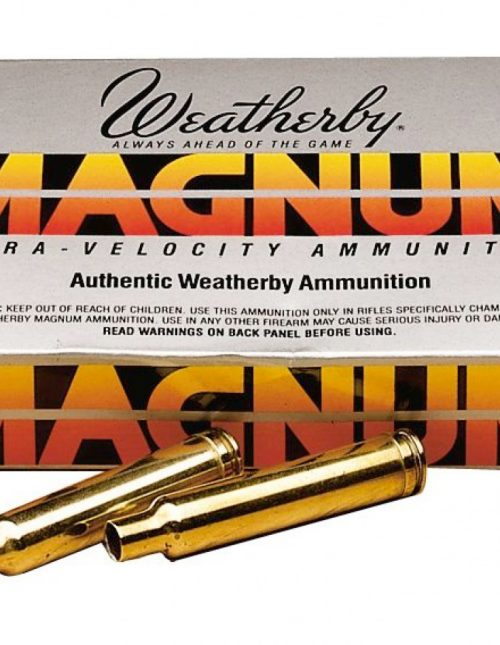 Weatherby Brass Weatherby Mag Unprimed 20/ct