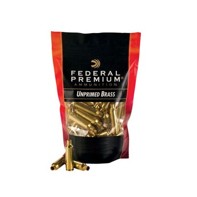 Federal Brass 22-250 Rem Unprimed 100/ct