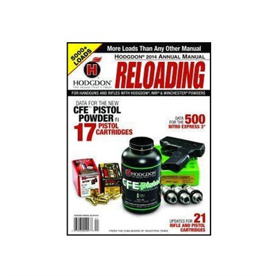 Hodgdon 2014 Complete Reloading Data Manual