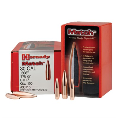Hornady Rifle Bullets 30 cal
