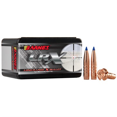 "Barnes Rifle Bullets 7mm (.284"") 168gr LRX BT - 50/bx"