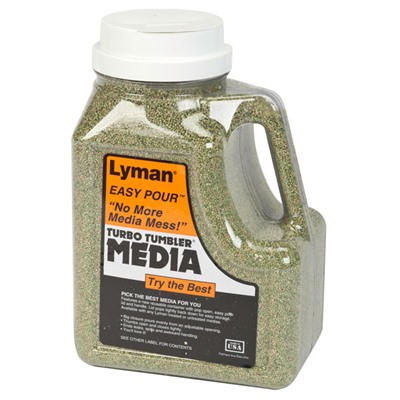 Lyman Turbo Brass Cleaning Media Treated Corn Cob - 6lb