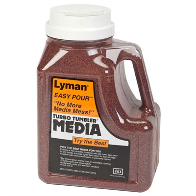 Lyman Turbo Brass Cleaning Media Treated Tufnut (Walnut) 7lbs
