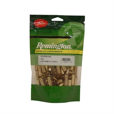 Remington Pistol Brass 38 Special 100/ct