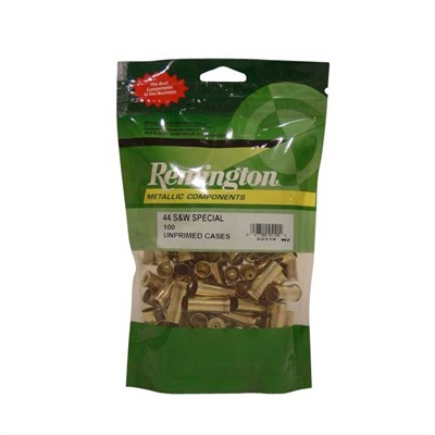 Remington Pistol Brass 44 S&W 100/ct