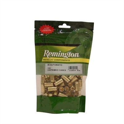Remington Pistol Brass 45 ACP 100/ct