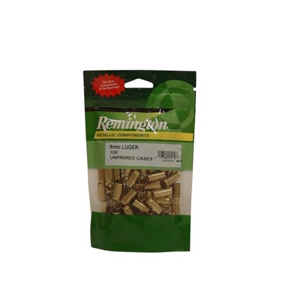 Remington Pistol Brass 9mm Luger 100/ct