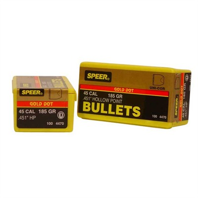 Gold Dot hollowpoint handgun bullets are specifically designed for personal protection applications. Trusted by many in the law enforcement community when lives are on the line.