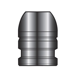 Lyman 2-Cavity Bullet Mold #427666 44-40 WCF (428 Diameter) 200 Grain Flat Nose Bevel Base