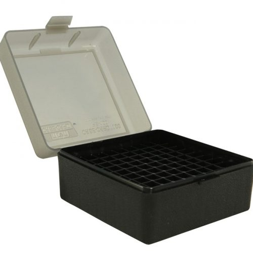 MTM Flip-Top Ammo Box 6X47 204 Ruger, 223 Remington 100-Round Plastic
