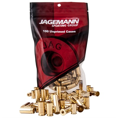 Jagemann Handgun Brass 9mm +P 100/bag